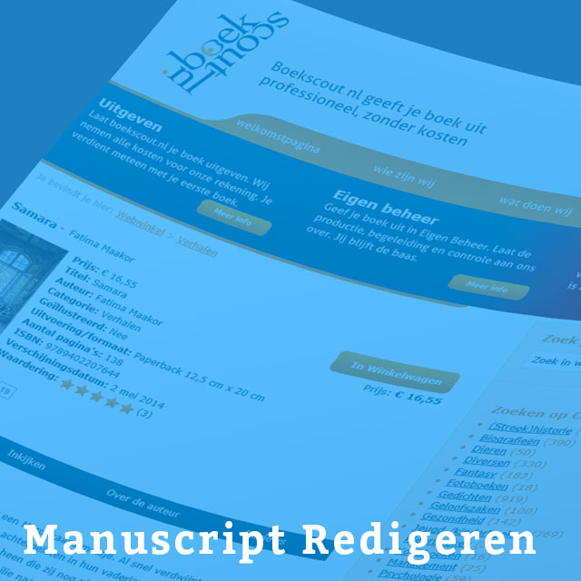 Manuscript-Redigeren
